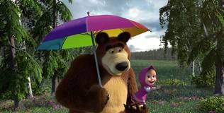 Маша и медведь: Песенки для малышей - 7 серия. Радуга