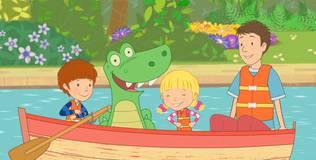 Дейзи и Олли. Детские песни - 19 серия. Про лодку