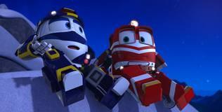 Роботы-поезда - 12 серия. Тренировка Альфа