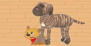 Клео — забавный щенок - 25 серия. Рисунки Ирмы