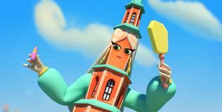 Домики - 8 серия. Башня Сююмбике