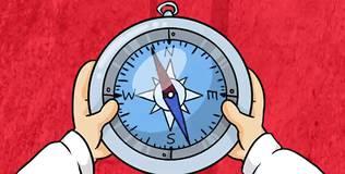 Профессор Почемушкин - Почему стрелка компаса всегда указывает на север?