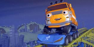Олли: весёлый грузовичок - 20 серия. Весёлая мойка