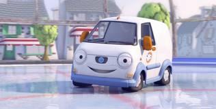 Олли: весёлый грузовичок - 17 серия. Танцы на льду