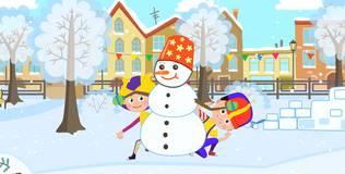 Кукутики. Новый год - Снеговик