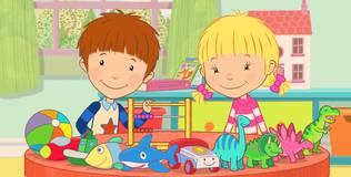 Дейзи и Олли. Детские песни - 10 серия. Считаем игрушки
