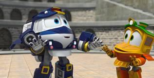 Роботы-поезда - 11 серия. Особая тренировка Селли