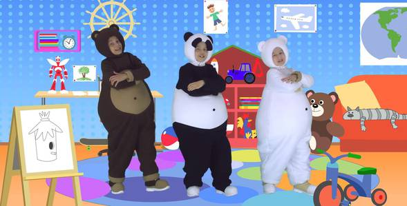 3 серия. Папа Три медведя смотреть онлайн