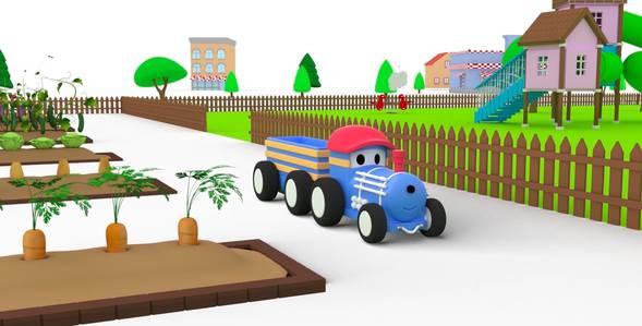 6 серия. Урожай Поезд по имени Тед смотреть онлайн