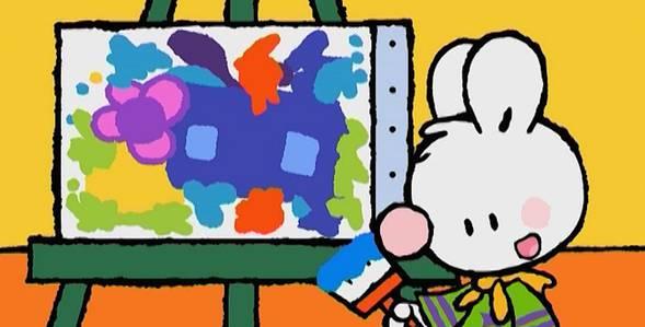 14 серия. Как я создал свой первый шедевр Крошка Крольчонок смотреть онлайн