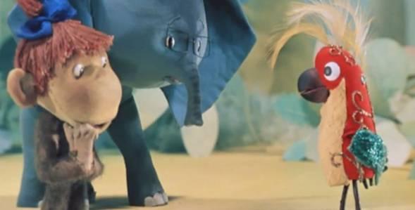 Серия 2. Куда идёт слонёнок 38 попугаев смотреть онлайн
