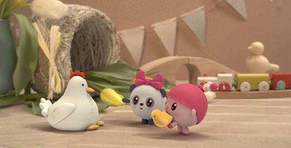 Серия 95. Мама для цыплёнка Малышарики смотреть онлайн