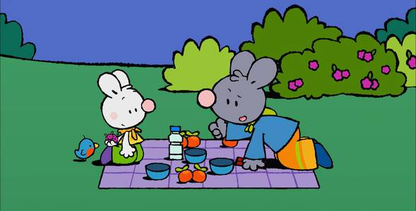 28 серия. Как я впервые играл с пугалом Крошка Крольчонок смотреть онлайн