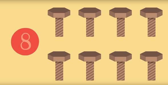 7 серия. Учимся считать. Цифра 8 Удивительная стройка смотреть онлайн