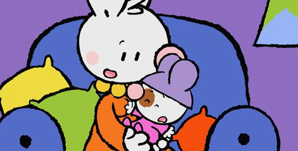 15 серия. Как я впервые встретил свою сестрёнку Крошка Крольчонок смотреть онлайн