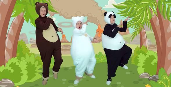 23 серия. Динозавр Три медведя смотреть онлайн