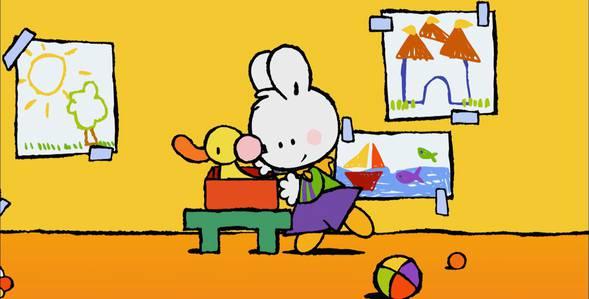 4 серия. Как я впервые принимал ванну с пузырьками Крошка Крольчонок смотреть онлайн