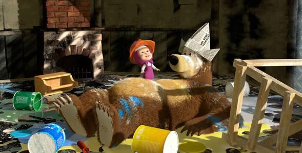 26 серия. Осторожно, ремонт! Маша и Медведь смотреть онлайн