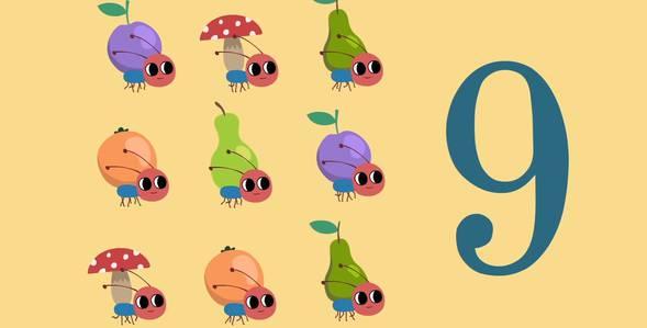 8 серия. Учимся считать. Цифра 9 Удивительная стройка смотреть онлайн