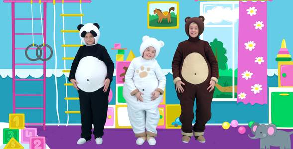 Серия 13. Пальчики Три медведя смотреть онлайн