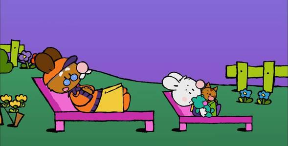 47 серия. Как я первый раз увидел падающую звезду Крошка Крольчонок смотреть онлайн