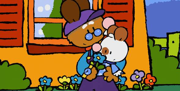 11 серия. Как я впервые кормил маленького птенчика Крошка Крольчонок смотреть онлайн
