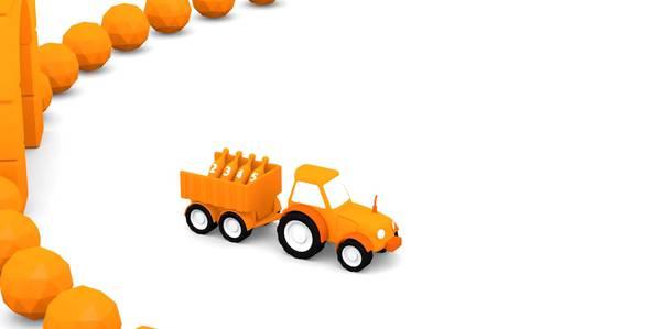 Серия 5. Оранжевый трактор 4 машинки смотреть онлайн