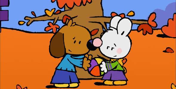 54 серия. Как я в первый раз залез на дерево Крошка Крольчонок смотреть онлайн