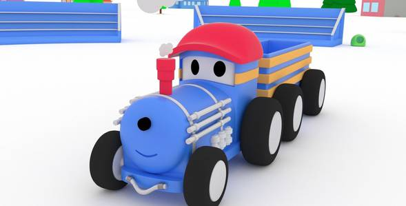 1 серия. Полицейская машина Поезд по имени Тед смотреть онлайн