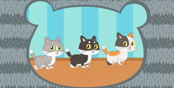 35 серия. Котики Три медведя смотреть онлайн