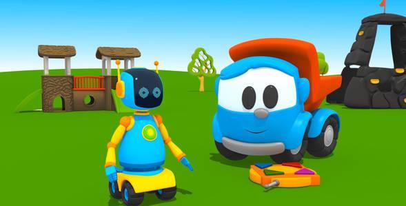 18 серия. Робот Грузовичок Лёва смотреть онлайн