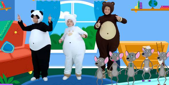 Серия 10. Маленькая мышка Три медведя смотреть онлайн