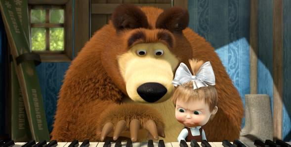 19 серия. Репетиция оркестра Маша и Медведь смотреть онлайн