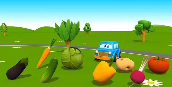 Серия 1. Овощи Умные машинки смотреть онлайн
