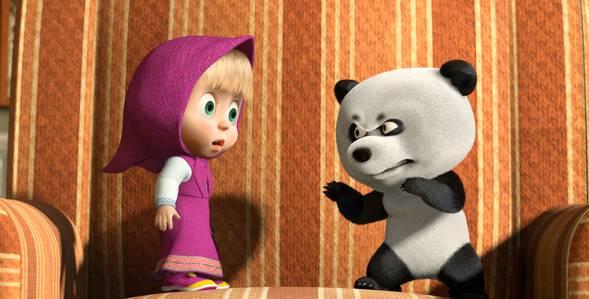 15 серия. Дальний родственник Маша и Медведь смотреть онлайн