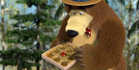 7 серия. Весна пришла! Маша и Медведь смотреть онлайн