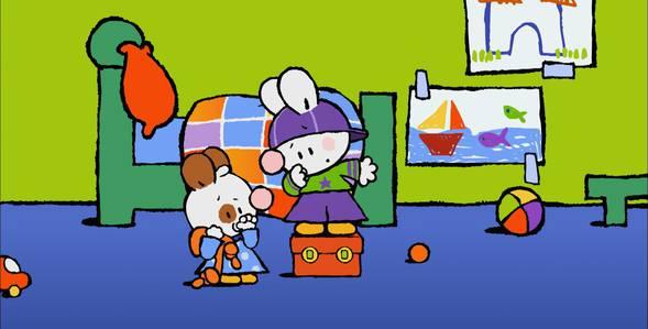 34 серия. Как я выучил свой первый стишок Крошка Крольчонок смотреть онлайн