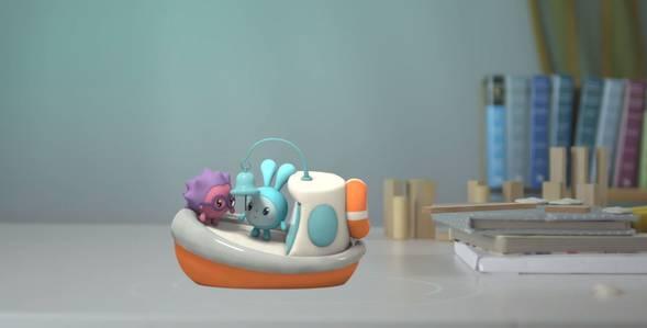Серия 2. Прогулка Малышарики смотреть онлайн