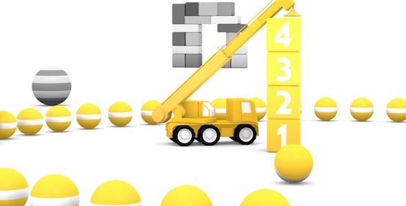 Серия 3. Жёлтый подъёмный кран 4 машинки смотреть онлайн