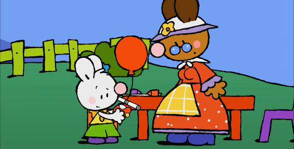 46 серия. Мой первый шарик дружбы Крошка Крольчонок смотреть онлайн