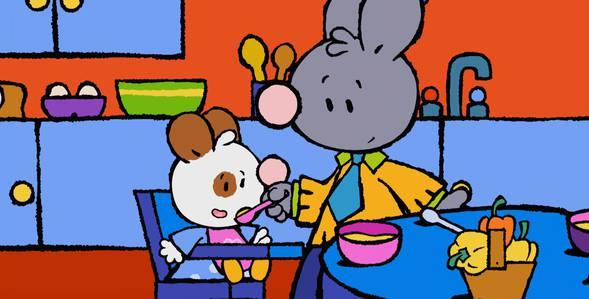 10 серия. Как я впервые попробовал суп из жёлтого перца Крошка Крольчонок смотреть онлайн