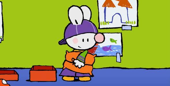 9 серия. Как я впервые катался с большой горки Крошка Крольчонок смотреть онлайн