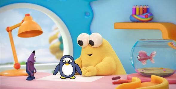 1 серия. Пингвин Каракули смотреть онлайн