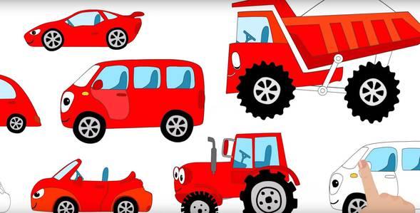 11 серия. Разноцветные машинки Синий трактор смотреть онлайн
