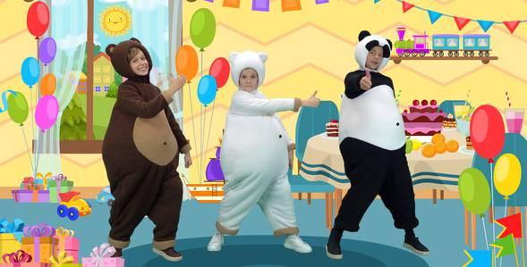 Серия 28. День рождения Три медведя смотреть онлайн