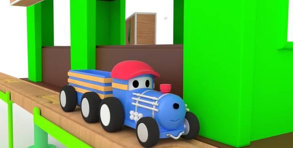 14 серия. Яичная гонка Поезд по имени Тед смотреть онлайн