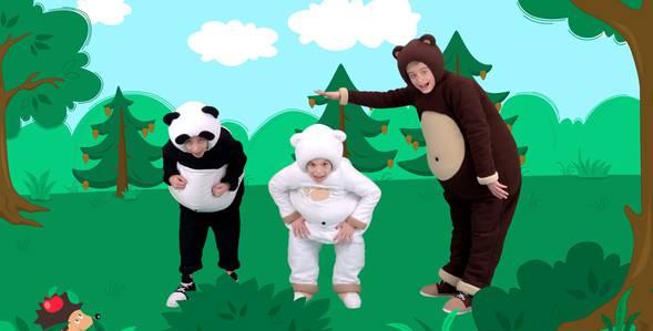 Серия 12. Раз, два, три Три медведя смотреть онлайн