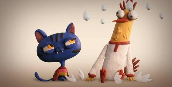 Петушок и кошечка Гора Самоцветов смотреть онлайн