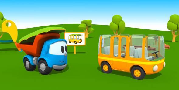3 серия. Автобус Грузовичок Лёва смотреть онлайн