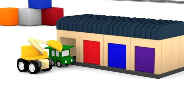 Серия 13. Строим гараж 4 машинки смотреть онлайн